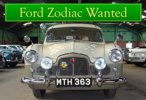 FORD ZODIAC MK1 WANTED, CLASSIC CARS WANTED, INSTANT PAYMENT Wanted