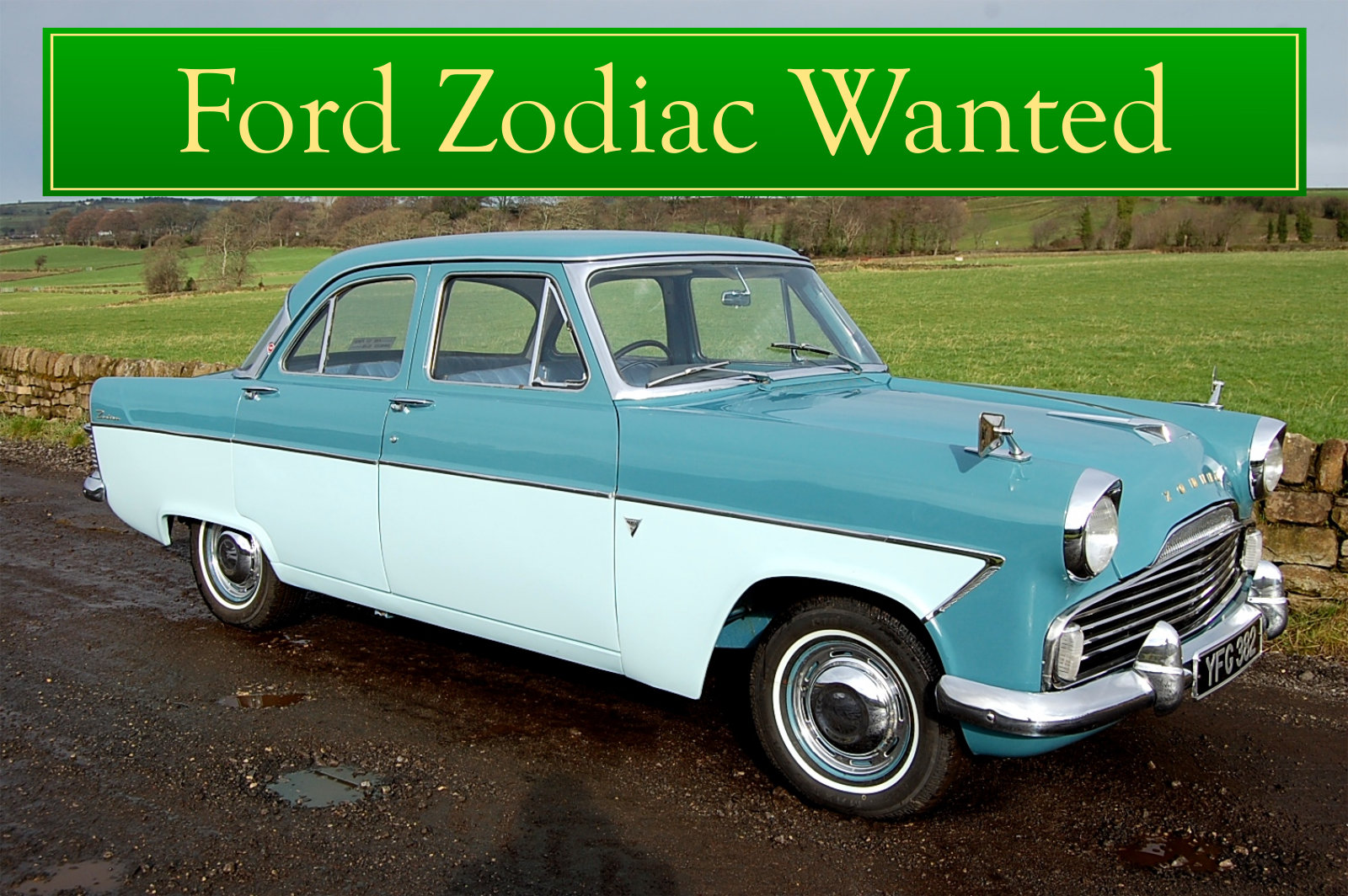 FORD ZODIAC MK2 WANTED, CLASSIC CARS WANTED, INSTANT PAYMENT Wanted (picture 1 of 6)