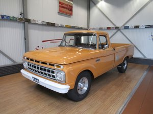 1964 Ford F250 V8 Custom Cab Camper Special Long Bed Pick Up For Sale