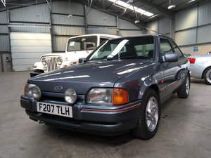 1989 Ford Escort XR3 INJ For Sale by Auction