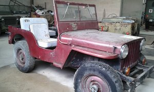 1943 FORD GPW WW2 MILITARY JEEP For Sale