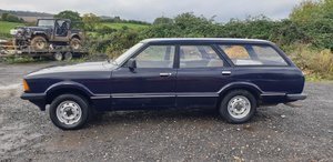 1981 Ford Cortina L Estate for auction 25th October