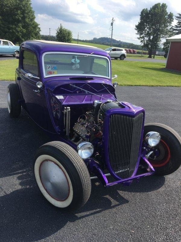1934 Ford 3 Window coupe (New Hartford, NY) $35,000 obo For Sale (picture 1 of 6)