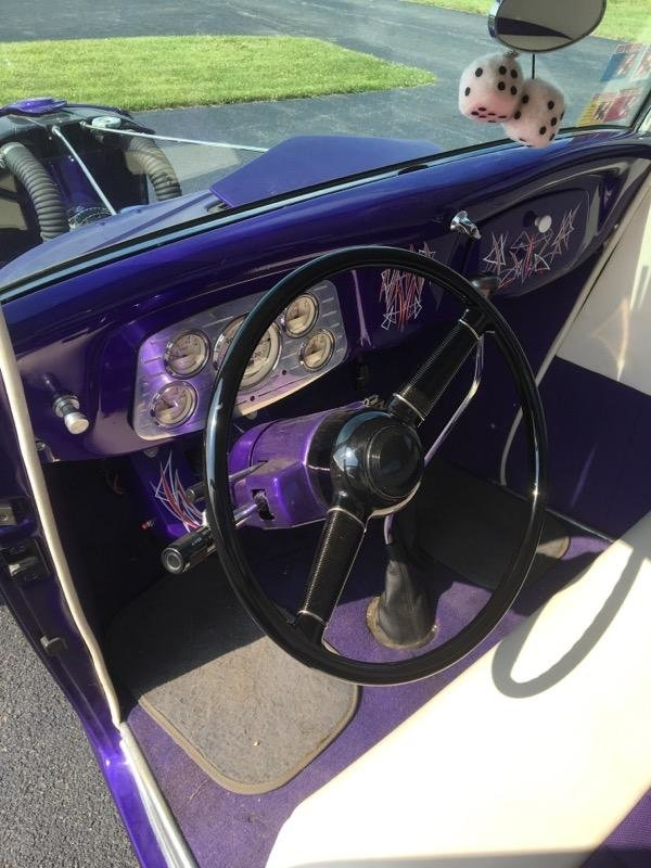 1934 Ford 3 Window coupe (New Hartford, NY) $35,000 obo For Sale (picture 3 of 6)