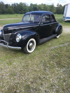1940 Ford 5 Window Coupe Deluxe (New Hartford, NY) $36,500
