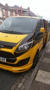 2014 ford transit custom day van