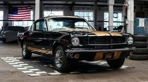 Ford 65 Fastback Shelby Hertz Look