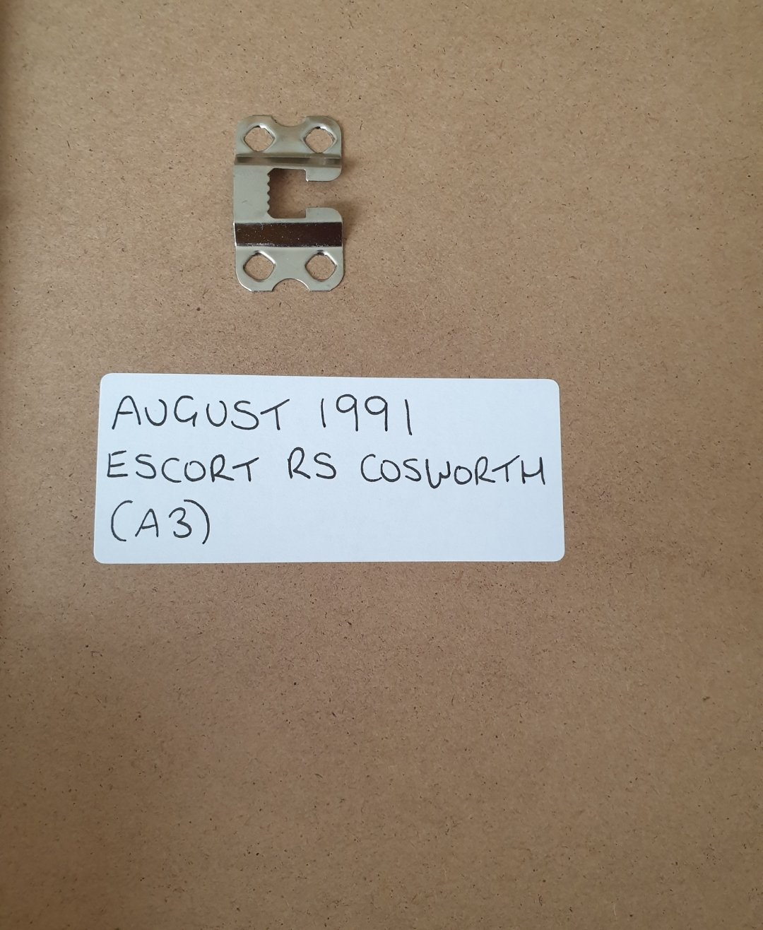1991 Original Escort RS Cosworth Advert For Sale (picture 2 of 2)