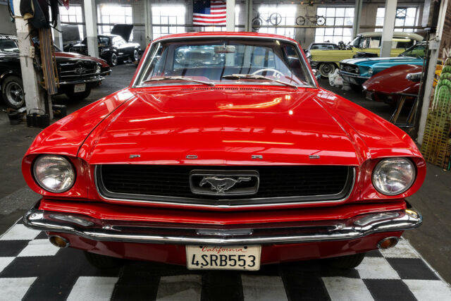1966 Ford Mustang 66 Mustang 6 cyl 3-Gang, sehr sauber For Sale (picture 3 of 5)