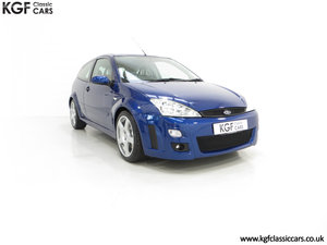 2003 A First Class Ford Focus RS Mk1 With Just 3,994 Miles SOLD