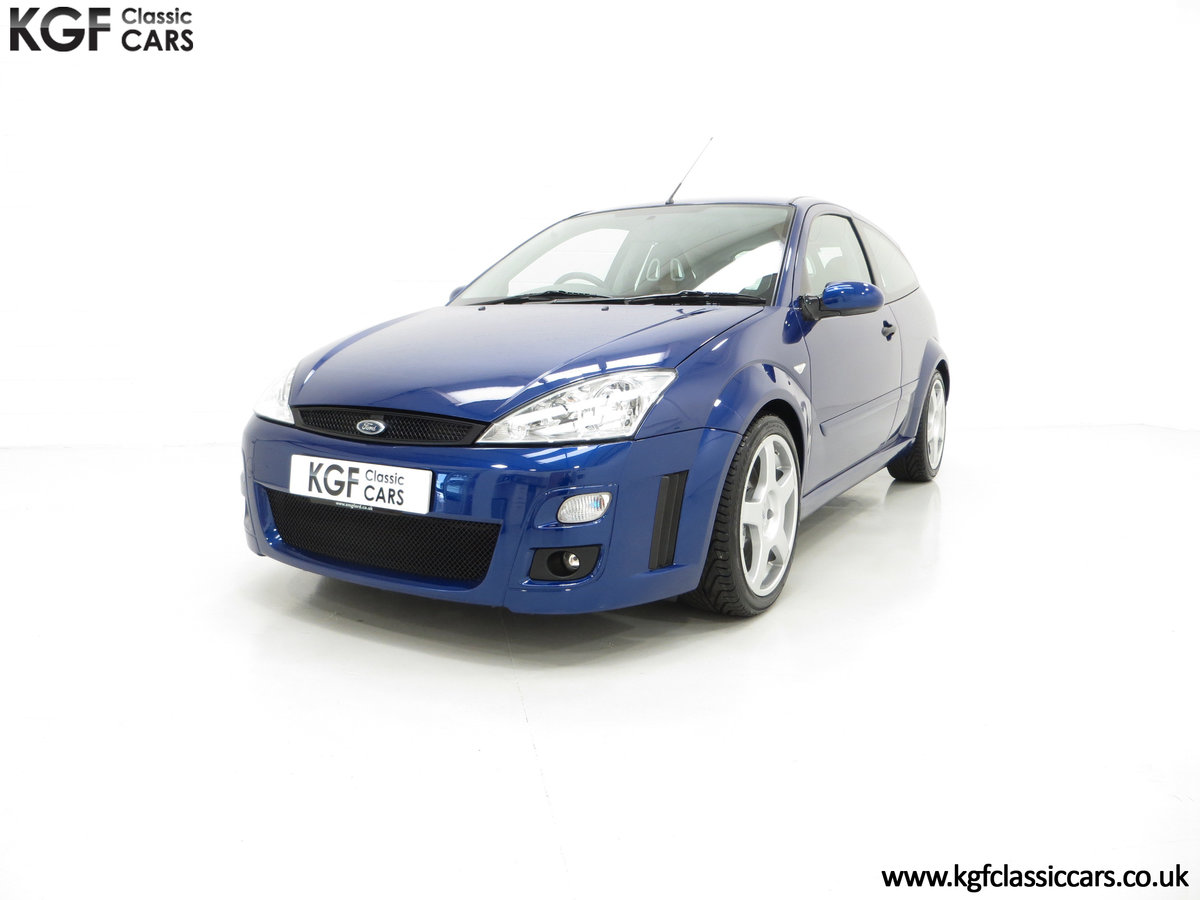 2003 A First Class Ford Focus RS Mk1 With Just 3,994 Miles SOLD (picture 2 of 6)