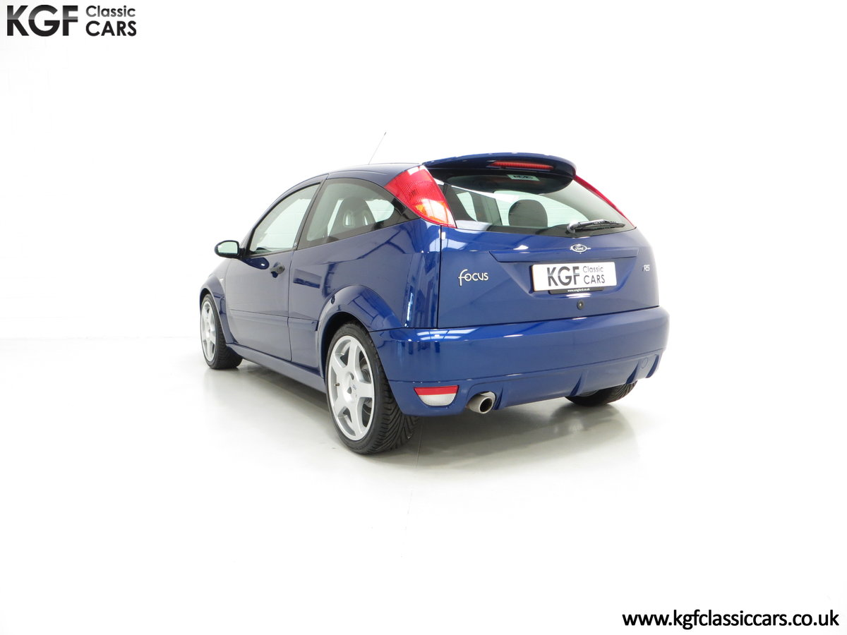 2003 A First Class Ford Focus RS Mk1 With Just 3,994 Miles SOLD (picture 4 of 6)