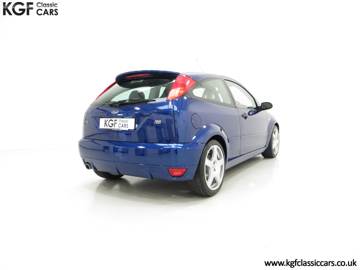 2003 A First Class Ford Focus RS Mk1 With Just 3,994 Miles SOLD (picture 5 of 6)