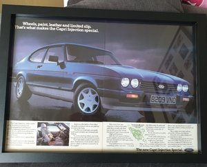 1984 Ford Capri 2.8i Advert Original  For Sale