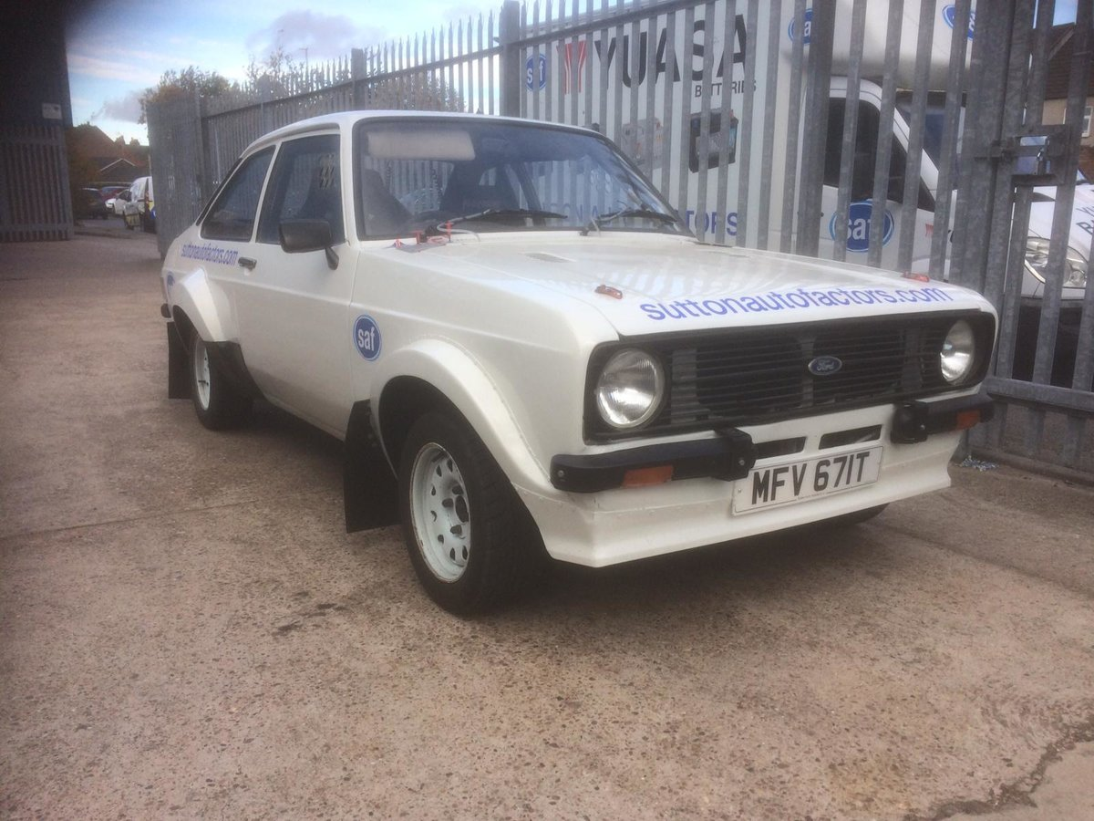 1979 Escort mk2 rally car For Sale (picture 1 of 6)