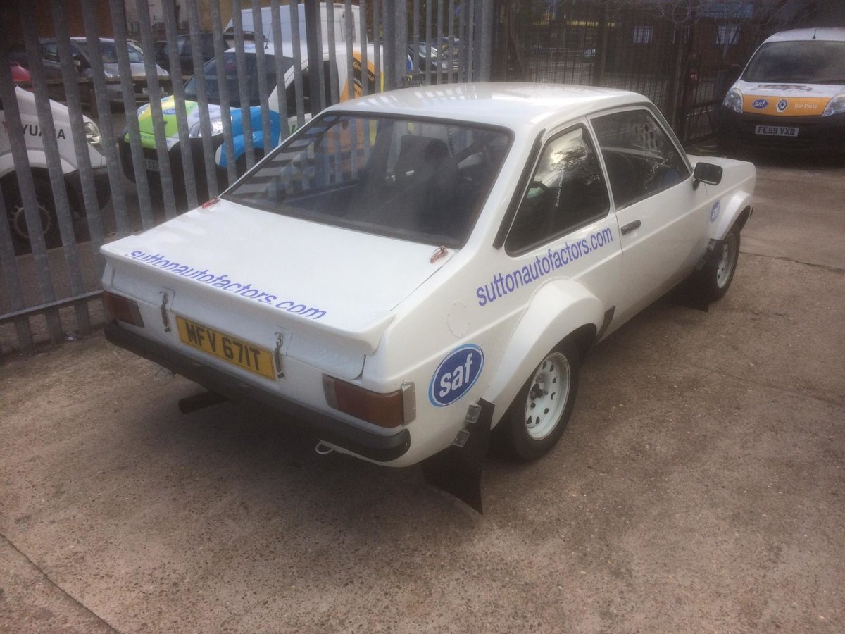 1979 Escort mk2 rally car SOLD (picture 5 of 6)