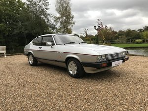 Ford Capri 2.8 injection with only 2,362 miles