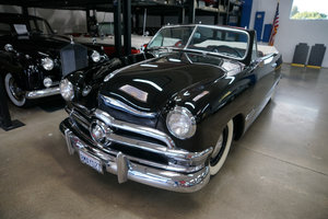 Orig California owner 1950 Ford Custom 2 Dr Convertible  SOLD