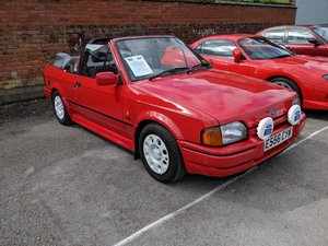 1987 Ford Escort Cabriolet Silver Tag Car For Sale