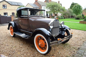 1928 Ford Model A Roadster For Sale by Auction