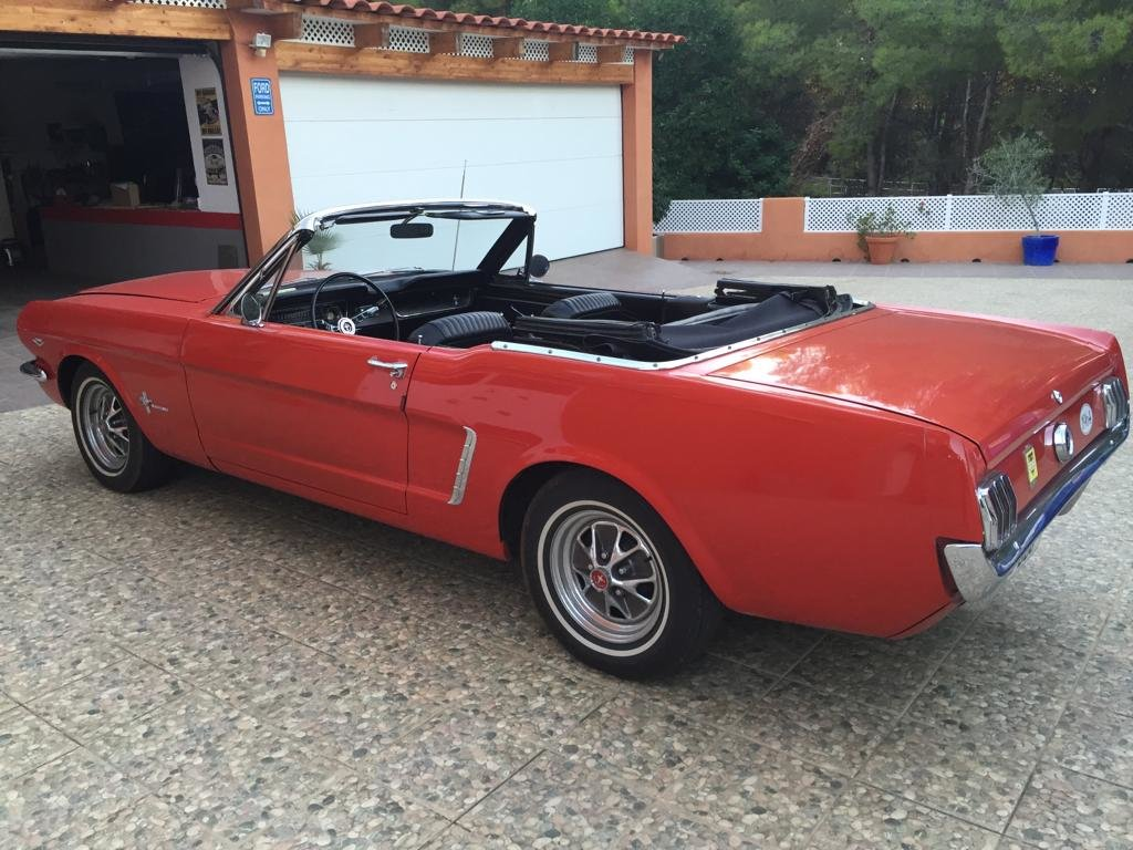 1964 ford mustang cabrio For Sale (picture 2 of 6)