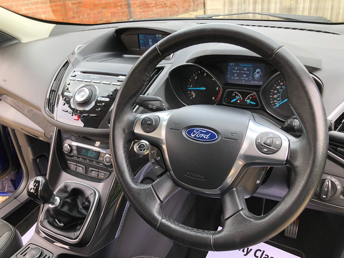 2014 Ford Kuga Titanium 4x4 Full main dealer SH 6 spd man TD For Sale (picture 5 of 6)
