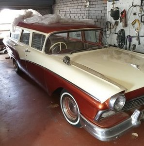 1957 Ford Ranch Wagon , 2V Fairlane V8 with C4 Auto Box For Sale