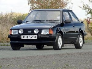 1982 Ford Escort XR3 For Sale by Auction