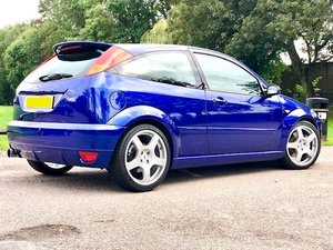 2003 Ford focus RS mk1  53 plate,