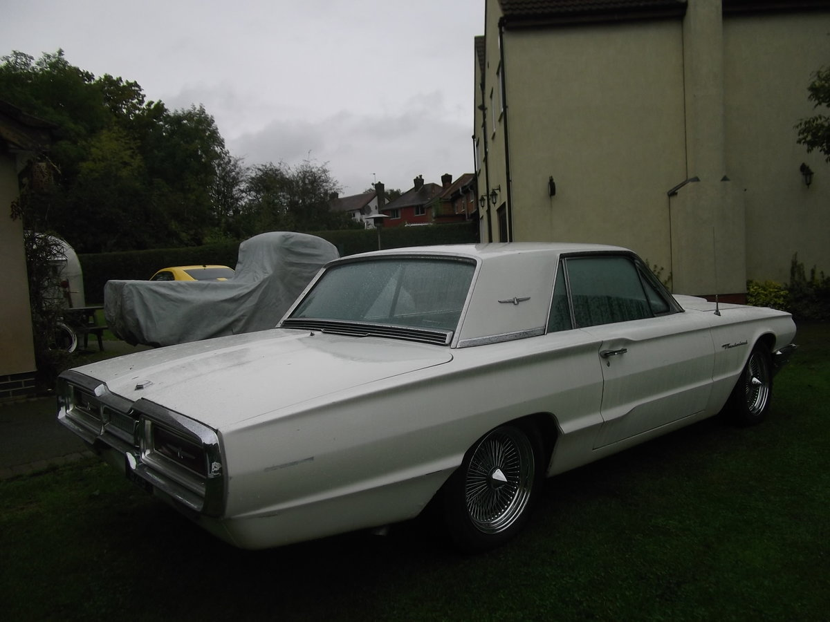 1964 Ford Thunderbird 390ci Big Block, Coupe, Automatic For Sale (picture 2 of 6)