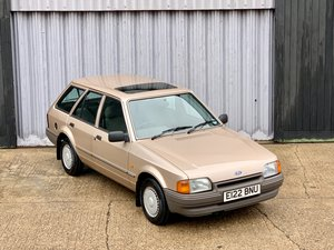 Stunning 1988 Ford Escort 1.6gl estate *15,392 mls from new* For Sale