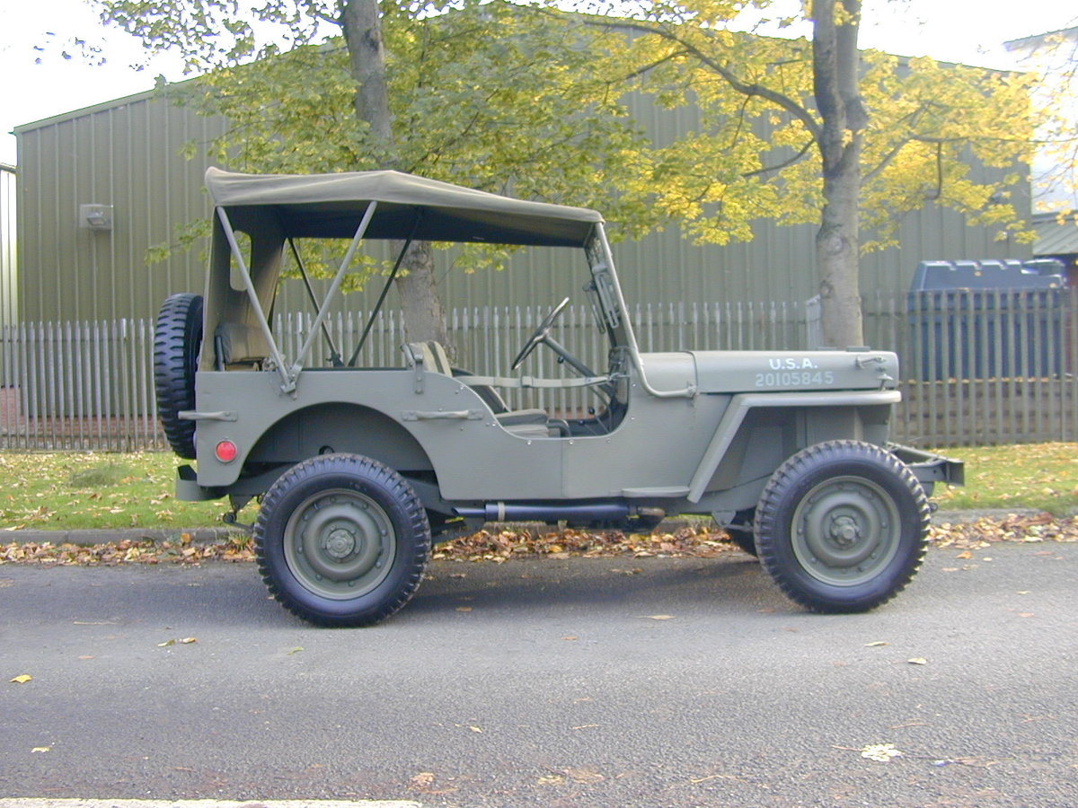 1942 FORD GPW SCRIPT WW2 JEEP - RESTORED - EXCEPTIONAL!! For Sale (picture 2 of 6)