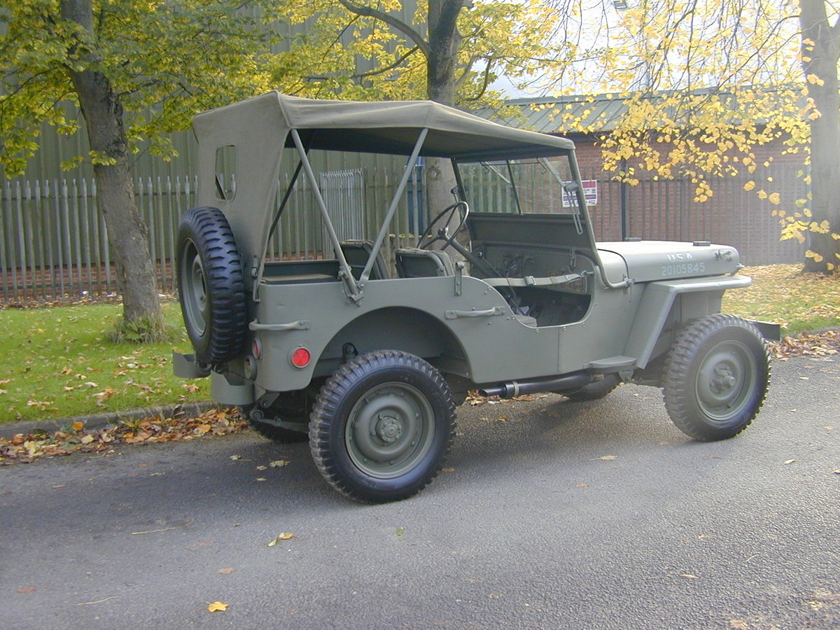1942 FORD GPW SCRIPT WW2 JEEP - RESTORED - EXCEPTIONAL!! For Sale (picture 3 of 6)