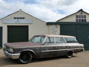 1963 Ford Galaxie Country Sedan, great car