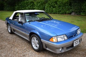 1989 Ford Mustang 5.0 V8 GT 25th Anniversary Edition For Sale