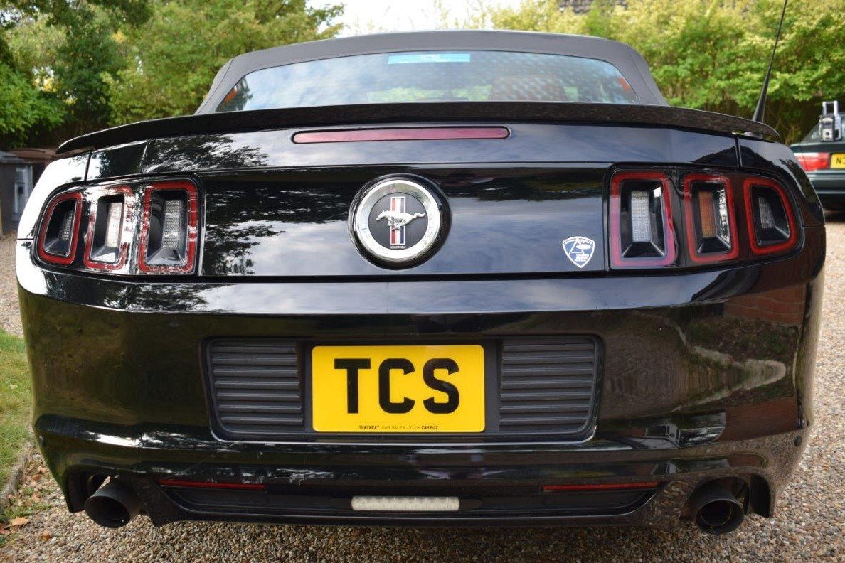 2013 Ford Mustang Convertible 305bhp Automatic For Sale (picture 5 of 6)