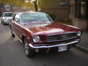 Ford mustang coupe 1966 For Sale