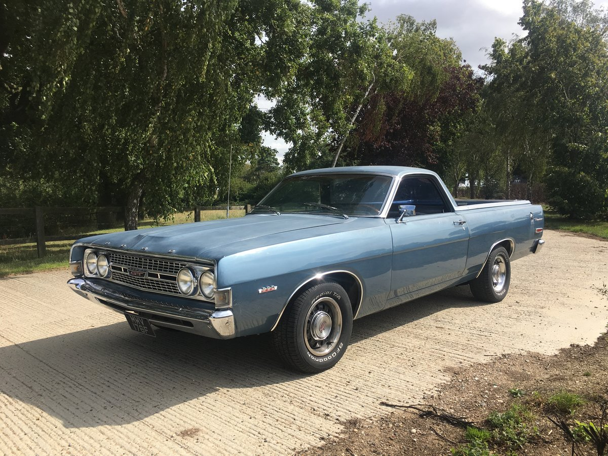 1968 Ford Ranchero 500 390 GT For Sale (picture 1 of 6)