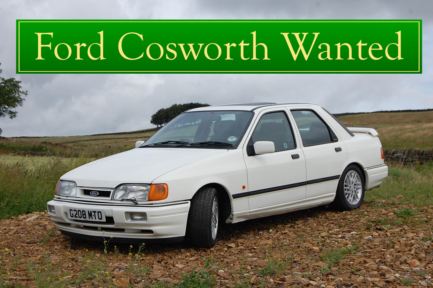 1986  FORD SIERRA XR4i WANTED, CLASSIC CARS WANTED, QUICK PAYMENT Wanted (picture 5 of 6)