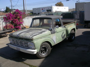 1964 RUSTFREE SHORTBED STEPSIDE  AUTOMATIC $11950  SHIPPING INCL For Sale
