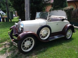1930 Ford A roadster after restore