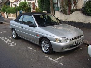 1997 ford escort convertible