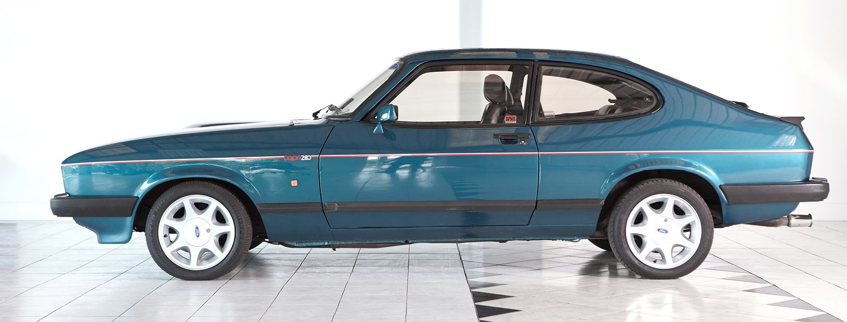 1987 Ford Capri 280 Brooklands SOLD (picture 1 of 10)