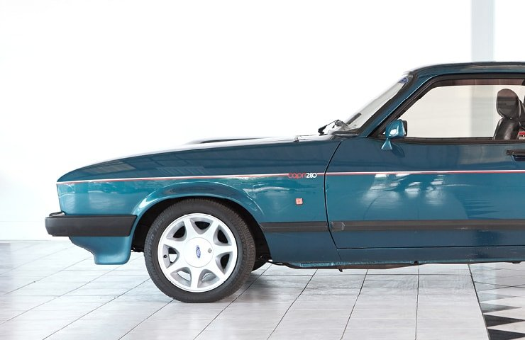 1987 Ford Capri 280 Brooklands SOLD (picture 2 of 10)
