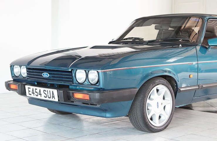 1987 Ford Capri 280 Brooklands SOLD (picture 3 of 10)