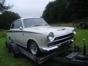 1965 Mk 1 Cortina Recreation in Lotus Colours SOLD