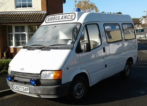1989 Ford Transit ambulance/bus For Sale