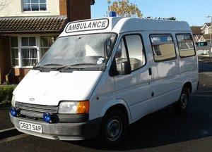 1989 Ford Transit ambulance/bus