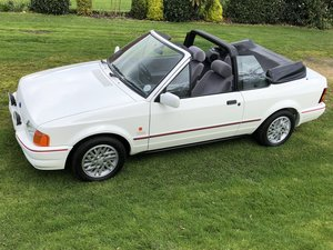 1990 Ford Escort XR£i Convertible - Concourse show winner! For Sale