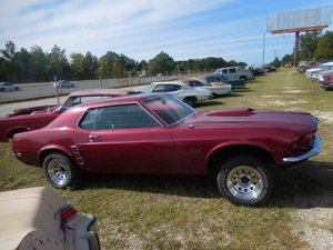 1969 Ford Mustang Coupe Project No Engine Solid $7.9k For Sale